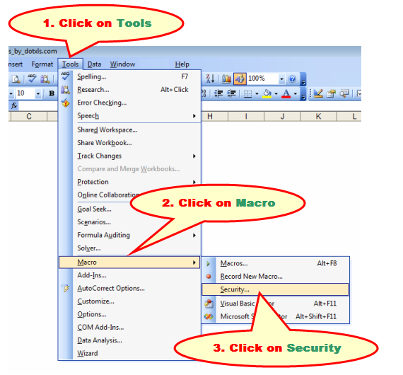 Enable Excel Macros 1
